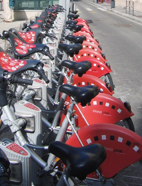 Bikes for hire in Lyons