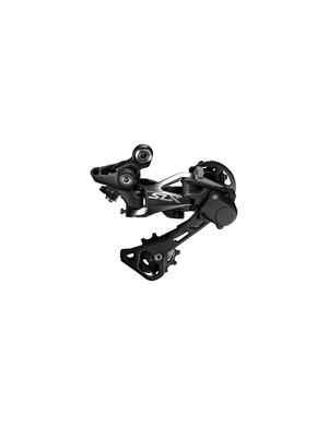 The new SLX derailleur gets an adjustable clutch and lighter action