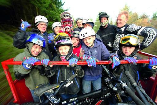 Off roading for kids