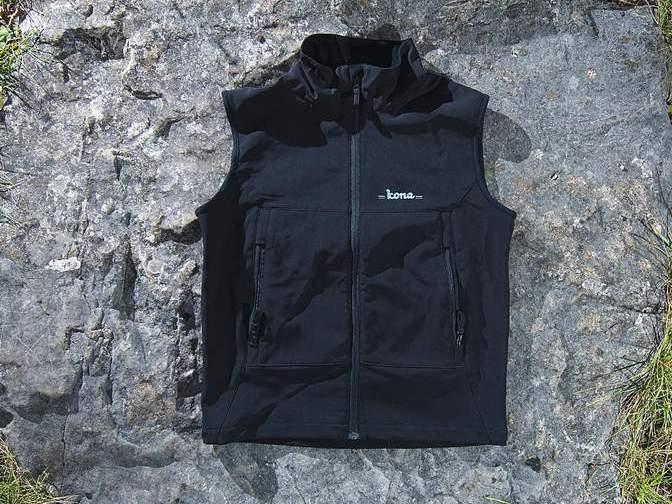 Kona Windstopper XC vest.