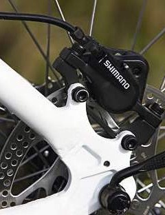 Shimano hydraulic disc are a great choice on a bike at this price