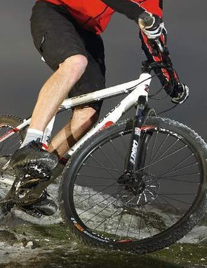 The advantage of its low bottom bracket is more stability at speed
