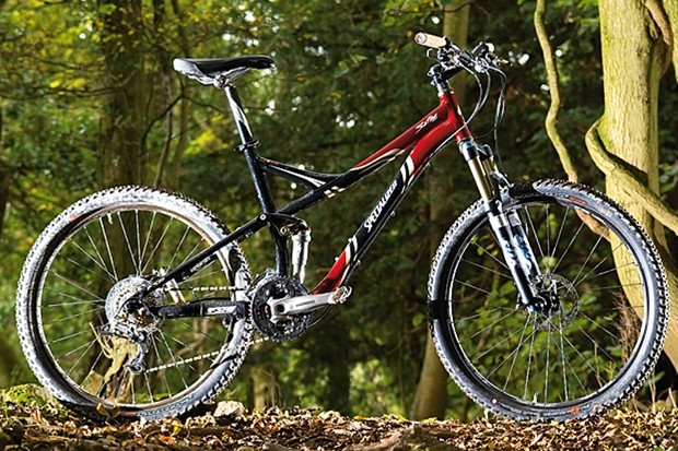 Specialized Safire FSR Expert has lightened frame tubes as well as women-specific geometry