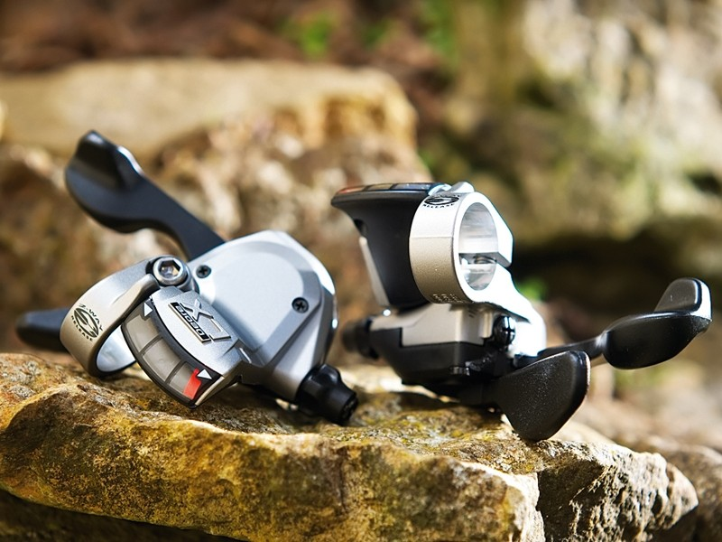 Shimano Deore LX Rapidfire shifters