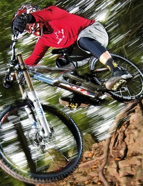 Goin down! The Gambler DH10 is Scott's latest gravity weapon