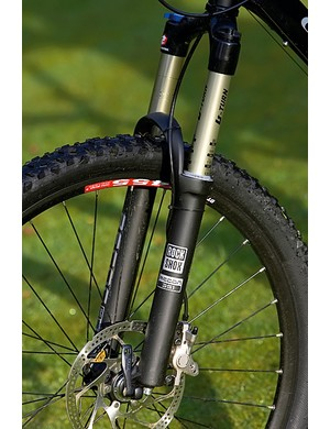 RockShox recon keeps everything planted and moving in the desired direction