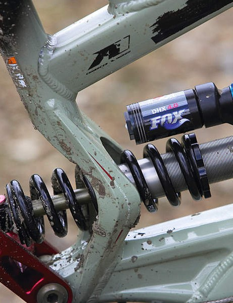 Fox coil shock may add some grams, but the performance is outstanding