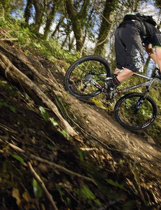 The TrailFox practically begs you to push your riding skills to the limit
