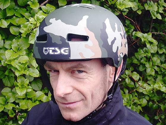 TSG Evo Camo Helmet