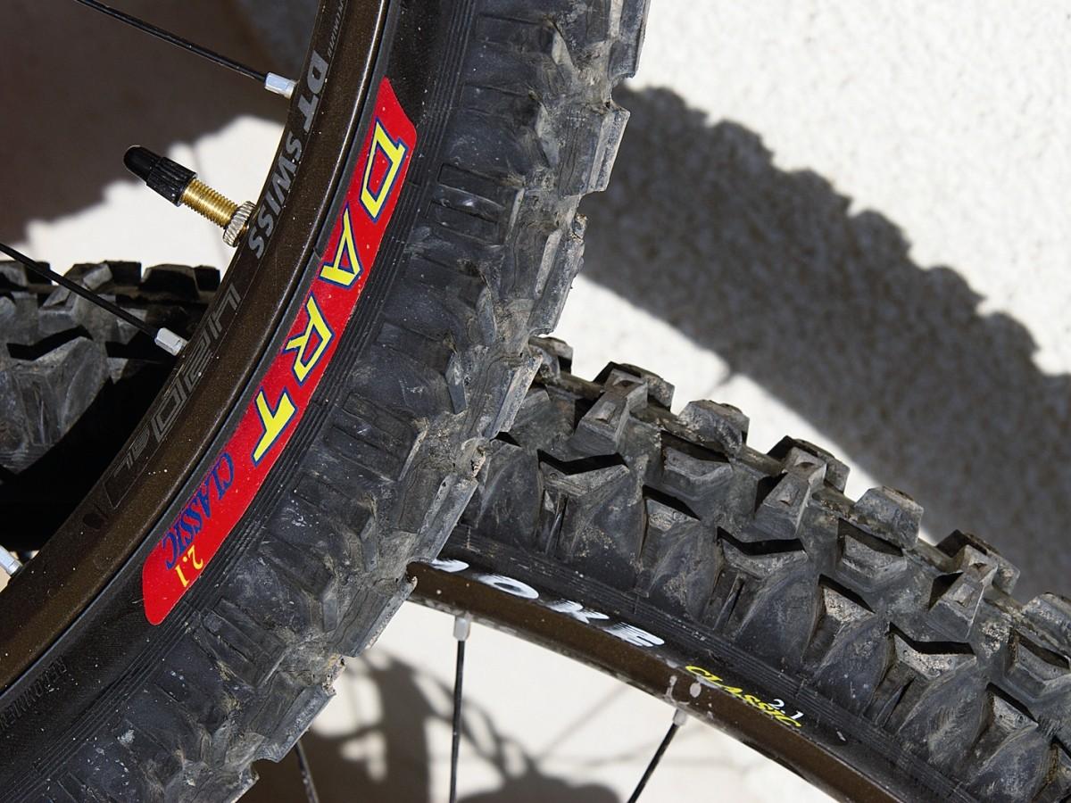 Panaracer Smoke and Dart Tyres