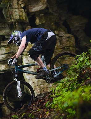 Mongoose Khyber Elite encourages downhill shenanigans then cheerfully rides back up for more