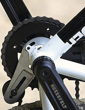 ISCG mounts mean easy-fit chain guide happiness to keep your drivetrain secure when you're sending it