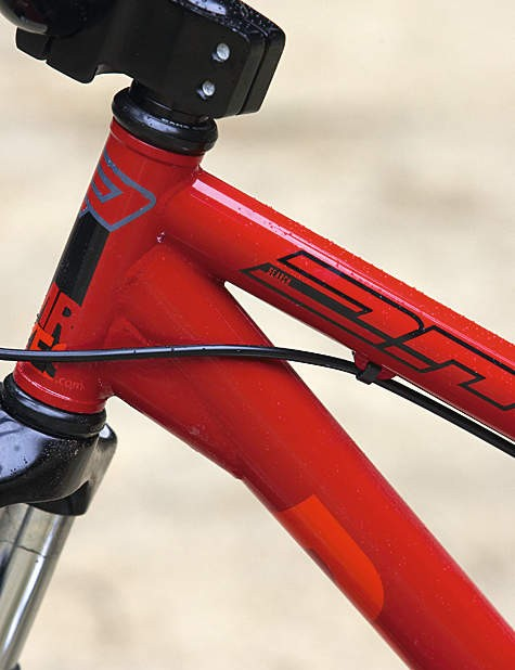 Singlespeed-only rear end keeps things pure and simple