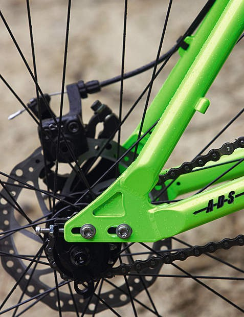 Swappable drop-outs and cable stops mean you can fit gears if you want them