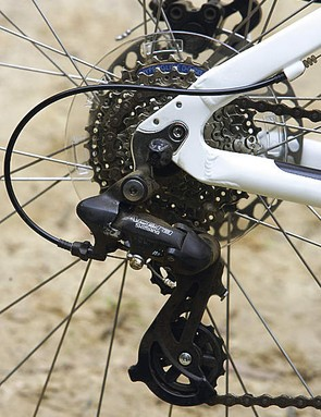 Gears are clattery on the trails but mean you'll push a lot less the rest of the time