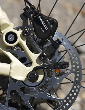 The smoothly powerful Shimano brakes are an asset
