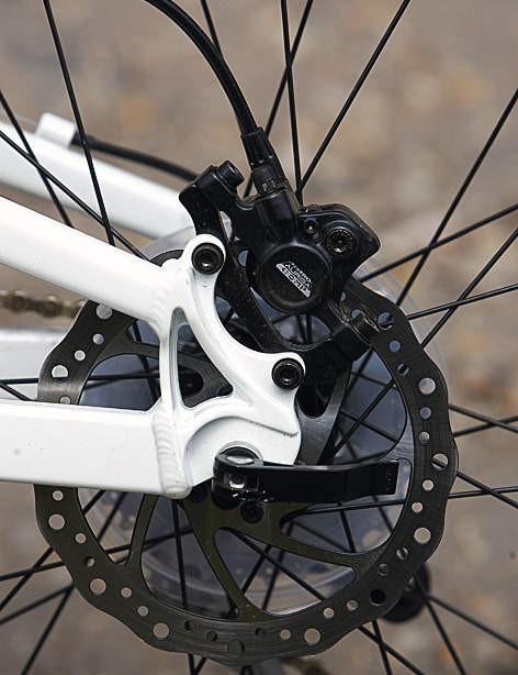 The Tektro brakes are a good option on bikes at this price