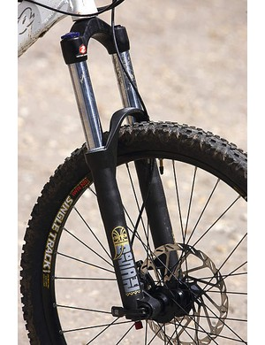 The RockShox Domain fork is a great choice at this price