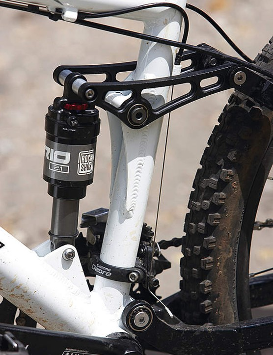 The RockShox Vario rear shock behaves really well