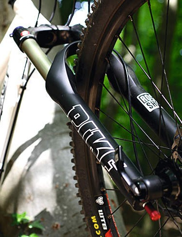 The precise steering Pike 409 fork is a welcome addition