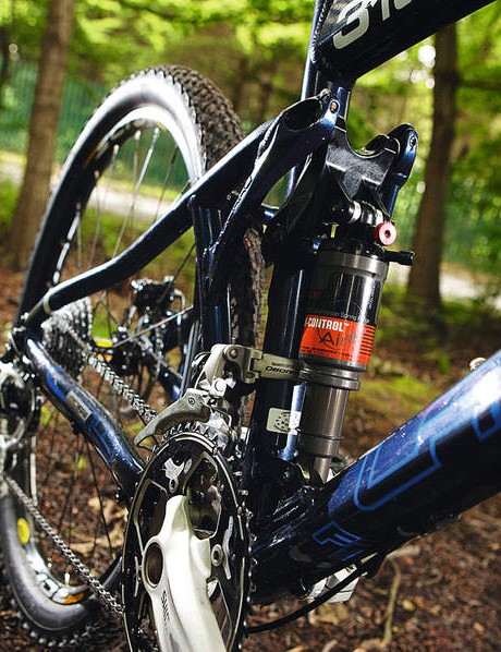 The Lapierre LP air shock surprised us with its competence
