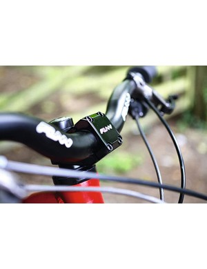 The Funn branded bars and stem dish out confidence