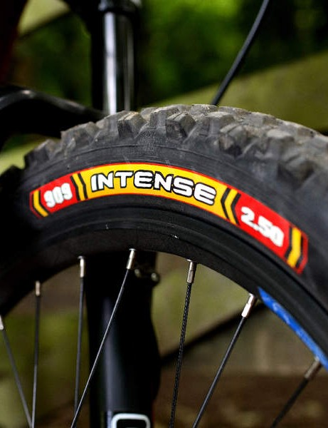 The Intense tyres are heavy, but sticky as freshly-chewed gum