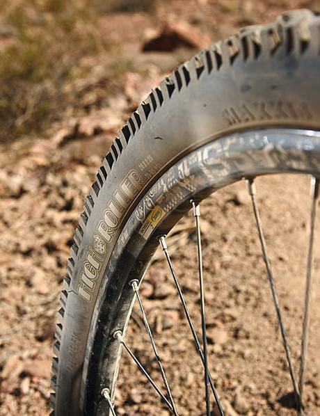 Single-ply tyres are not a good idea over rocky terrain, buy some tougher rubber and preserve your rims
