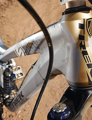 Trek were one of the first manufacturers to use the E2 tapered head tube standard