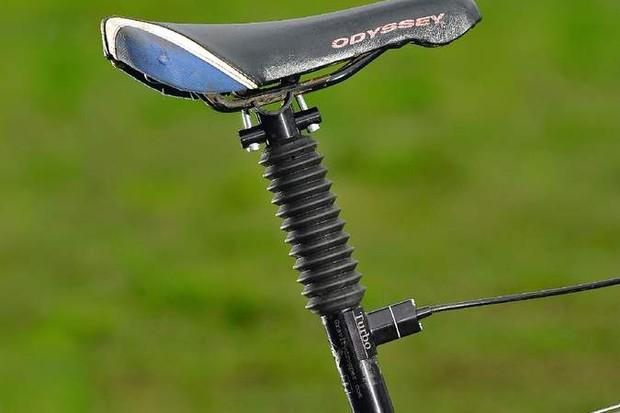 Gravity Dropper Turbo Seatpost