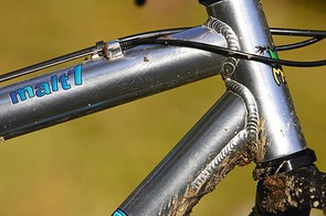 The Malt 1's plain frame tubes are hardly cutting edge, but they keep the great components together well.