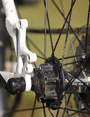 Looking to fit disc brakes in the future? Disc-ready hubs and mounts make for an easy upgrade path