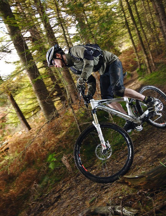 The Genius 50 Agile through the singletrack
