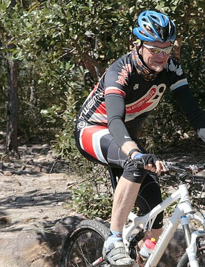Trail man: Gary Fisher loves to talk bikes, but he always seems happiest riding them.