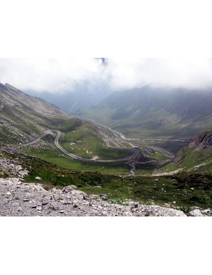 The mighty Col d'Agnel
