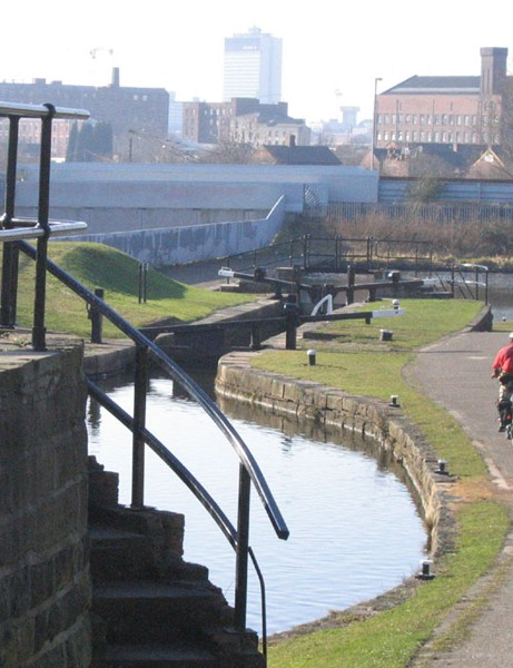Manchester has a good network of canal towpaths