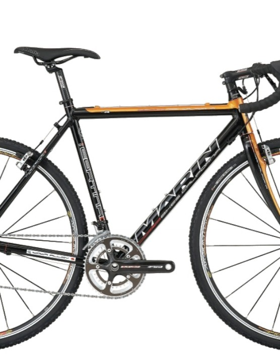 The Marin Cortina cyclo-cross bike, with SRAM Force/Rivel, FSA components, and Vittoria clincher knobbies.
