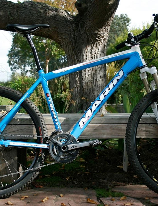 Marin has full sus dialed; now it's onto lightweight Scandium and carbon hardtails like the Team Issue HT.