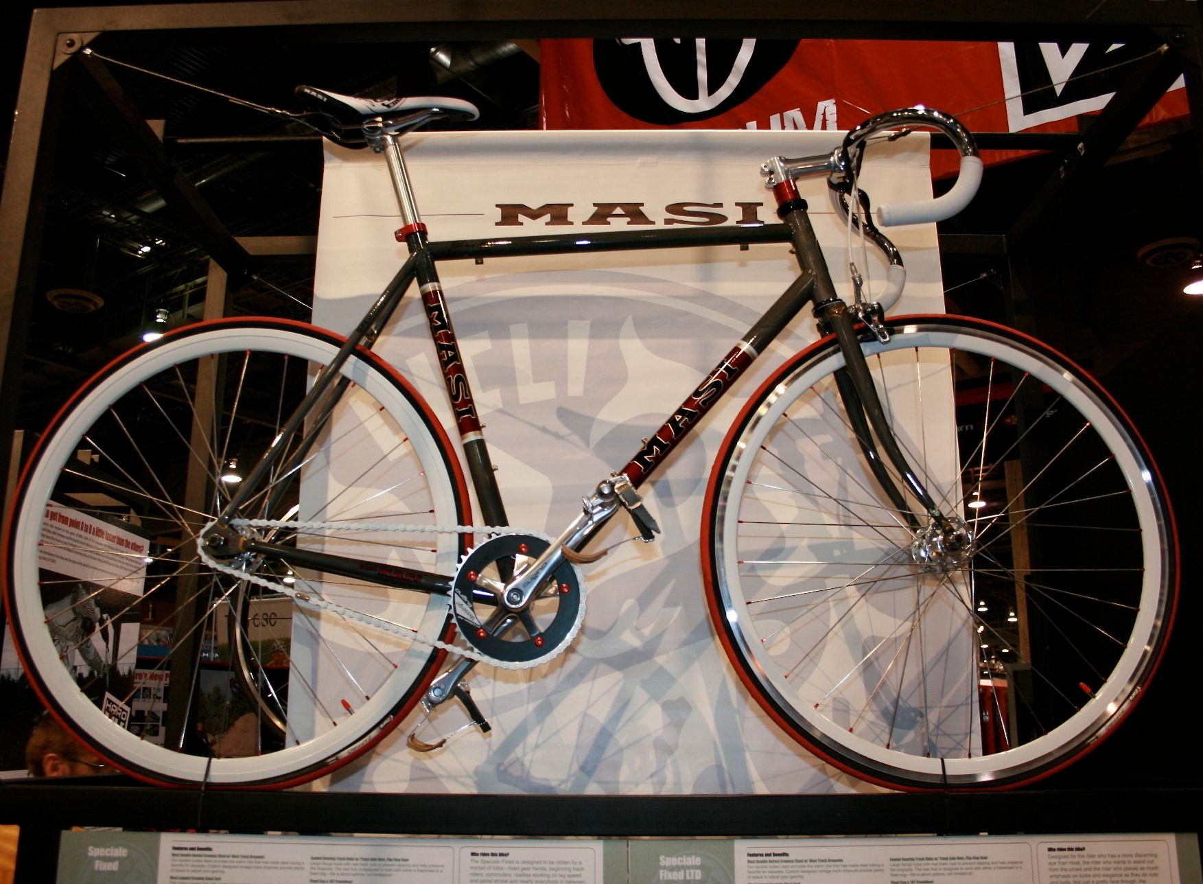 Masi's Speciale Fixed Ltd, its flagship road fixie.