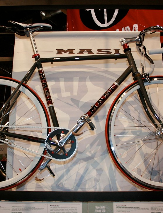 Masi's flagship fixie, the Speciale Fixed Ltd.