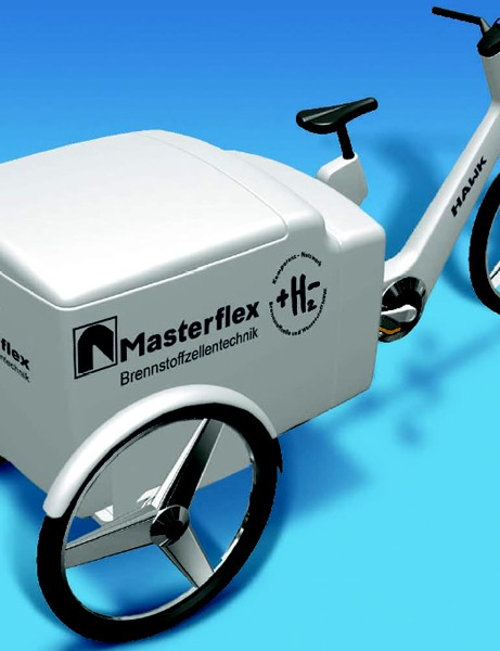 The Masterflex fuell cell bike