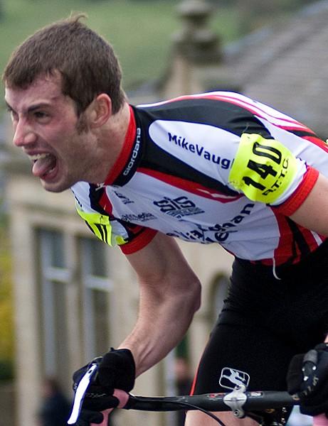 Matt Clinton is the new national hill-climb champion