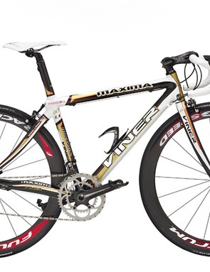 Maxima 60th Anniversary comes with custom carbon tubes and lugs