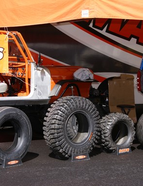 …but Maxxis is also heavily involved in tires for motorized vehicles.