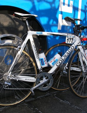 Milram's usual Colnago Extreme Power bikes…