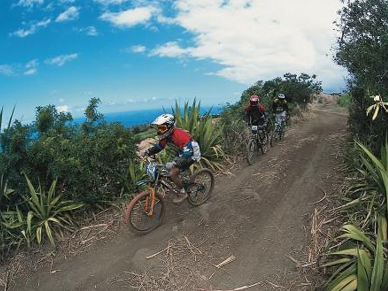 The course takes place 2,400m above sea level