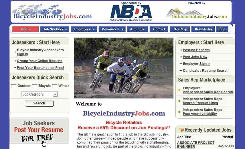 A new online job board.