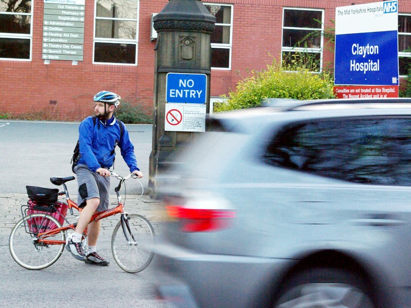 NHS shortchange cycling staff