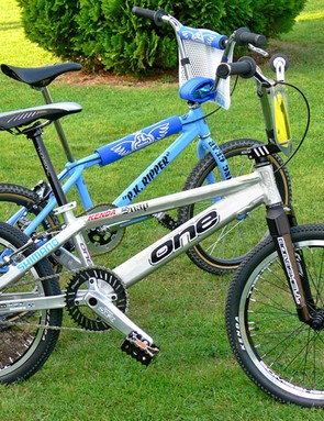 The old with the new. Quadangle's PK Ripper in the background, with One's gold winning model at the front.
