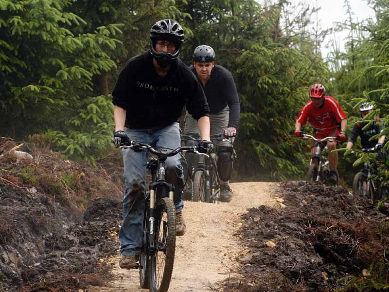 The new trails will make Kielder one of the biggest off-road networks in the UK.
